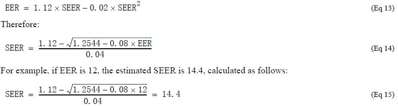 This Implies SEER Is 20% More, But In Practice The Value May Be Larger. 9  Also, Because The Conditions To Calculate The SEER Are Fixed, They May  Differ ...